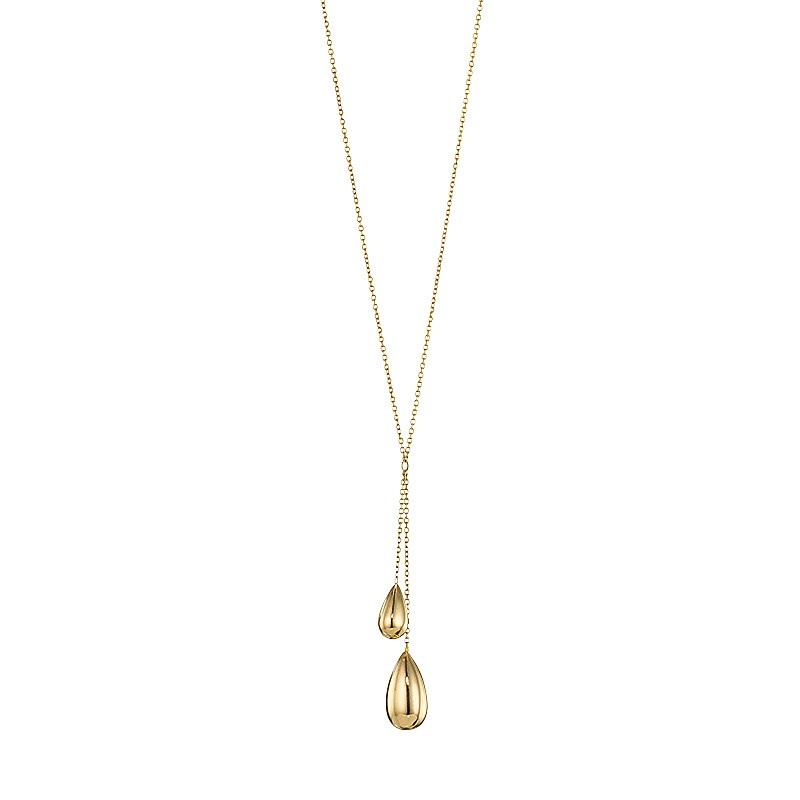 Buy gold raindrops necklace from pia jewellery gold raindrops necklace mozeypictures Gallery