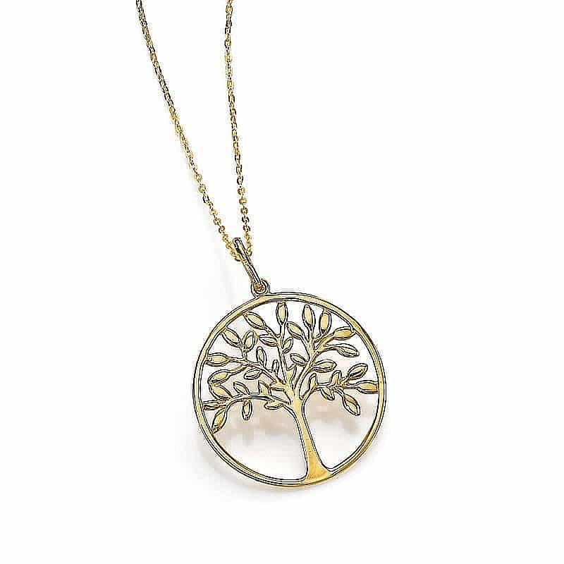 9e03b33a915 Gold Tree Of Life Pendant | Necklaces & Pendants | Pia Jewellery Direct