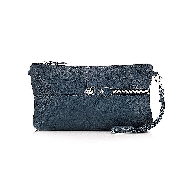 Grab & Go Navy Clutch Bag