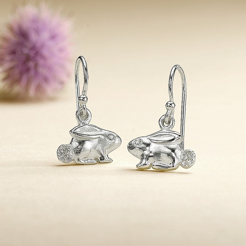 Cottontail Drop Earrings