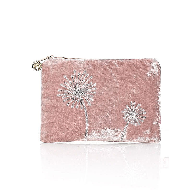 Blowing in the Wind Pink Pouch