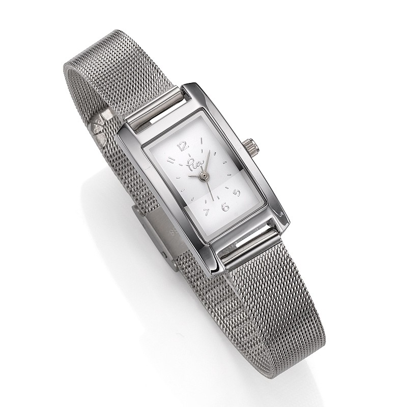 Time Is Right Mesh Watch