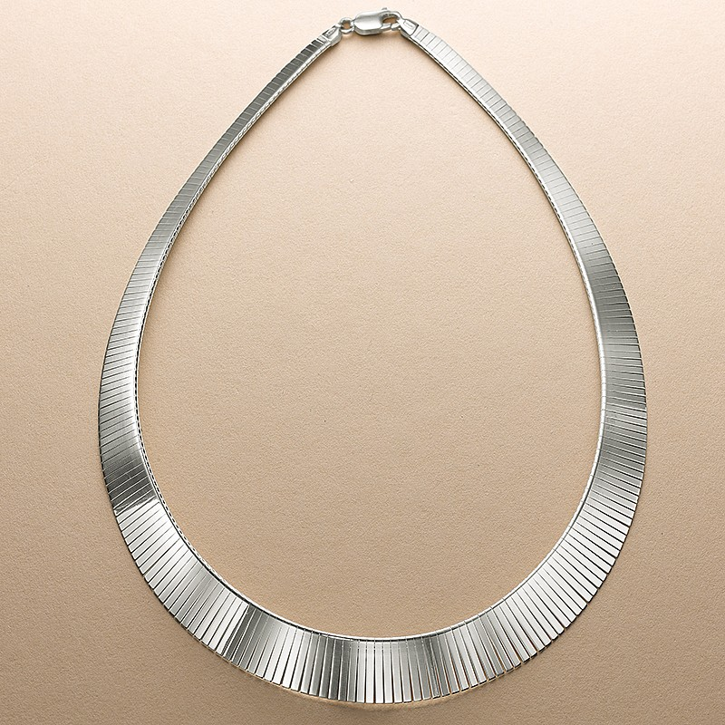 Stranded Silver Necklace