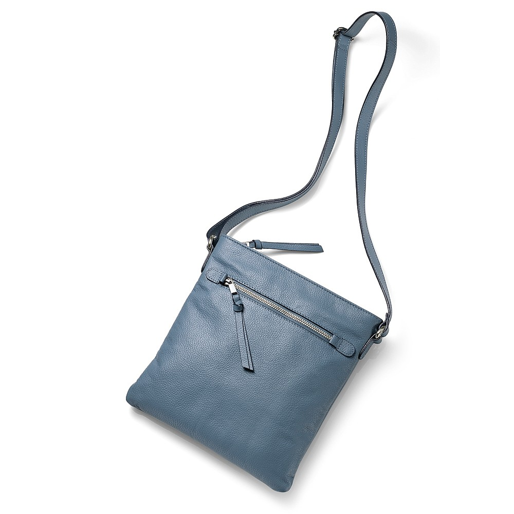 Practically Perfect Denim Cross-Body Bag