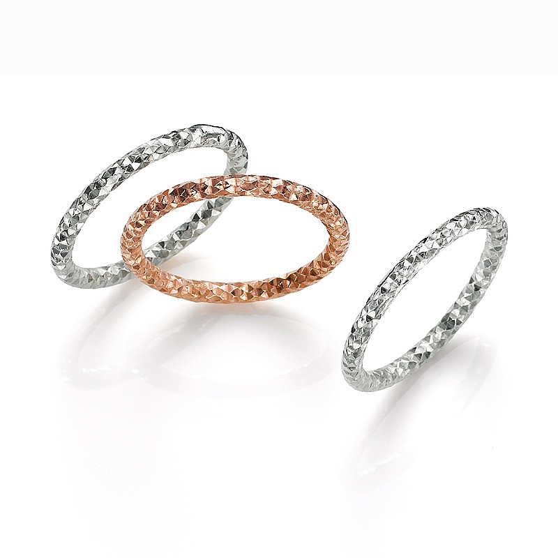 In Triplicate Rings