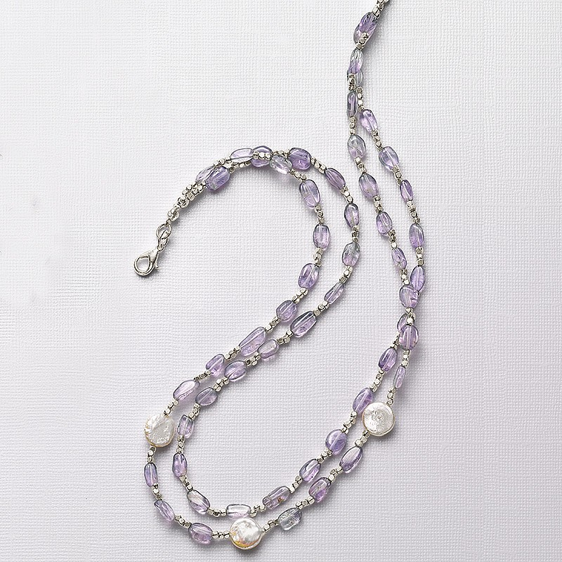 Dulcet Tones Amethyst Necklace
