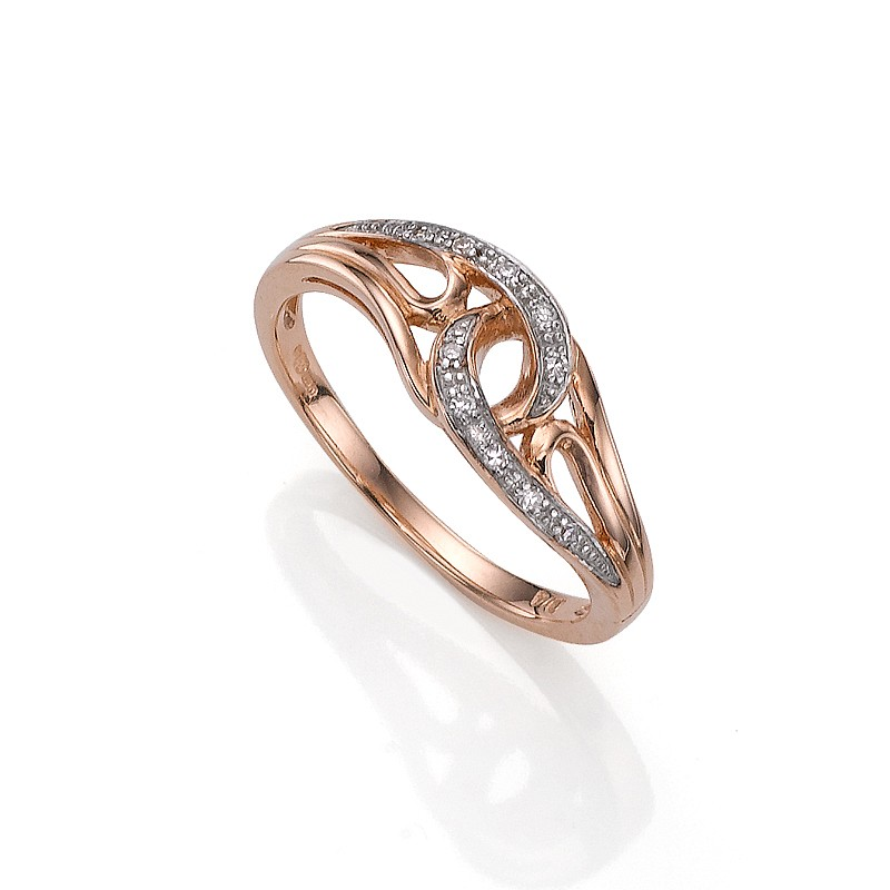 Forever Entwined Diamond Ring