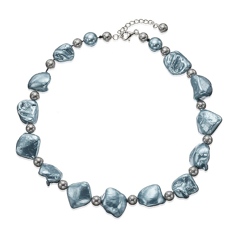Glacial Peaks Pearl Necklace