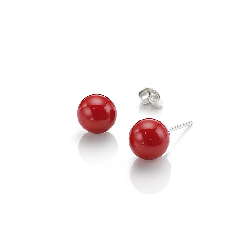 Poppy Perfection Stud Earrings