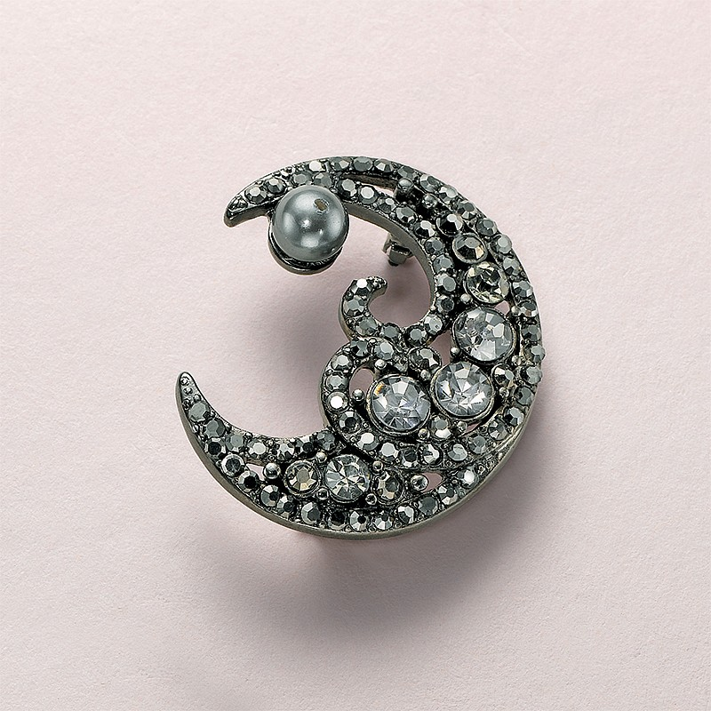 Tales Of The Moon Brooch