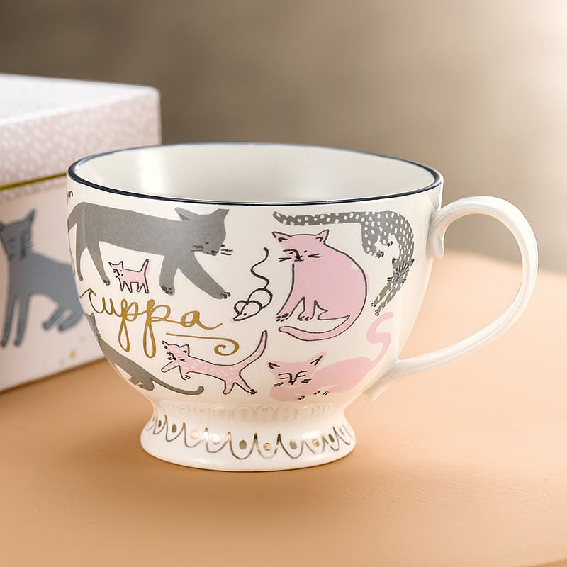 Feline Perfection Tea Cup