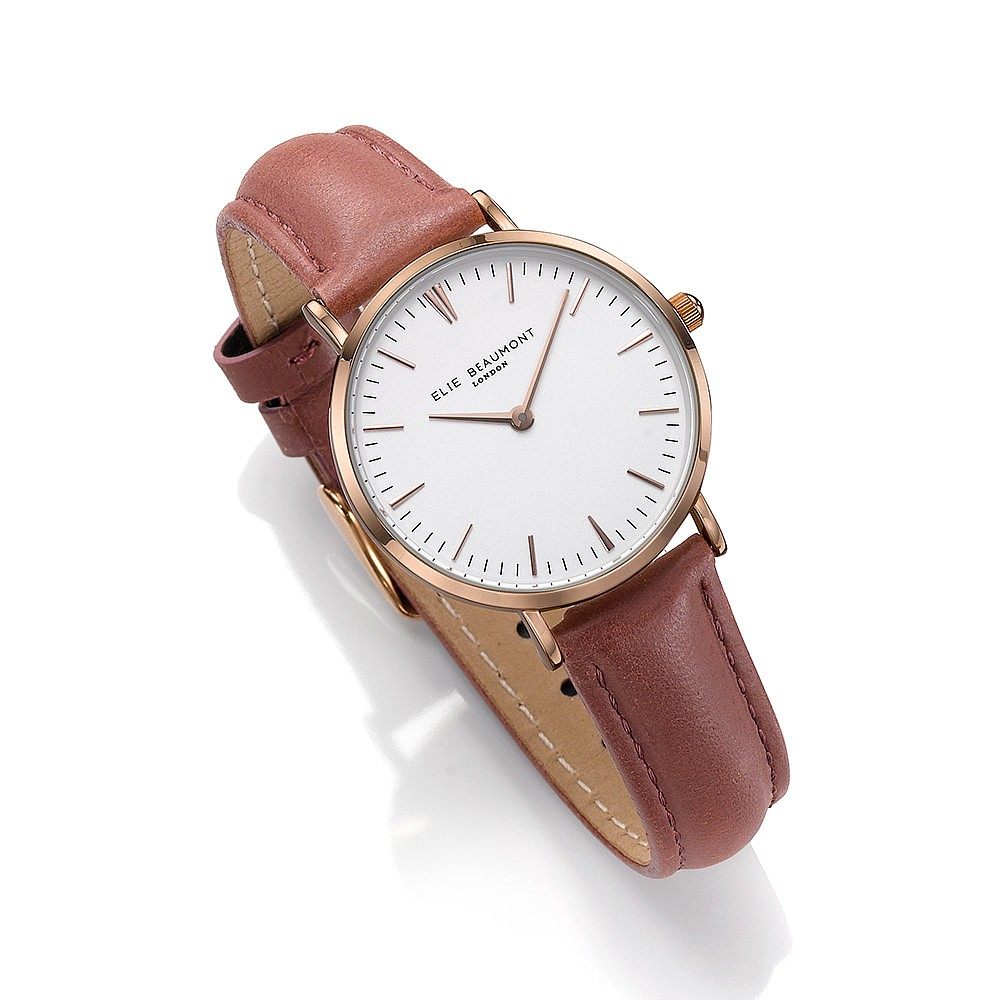 Elie Beaumont Oxford Dusty Rose Watch