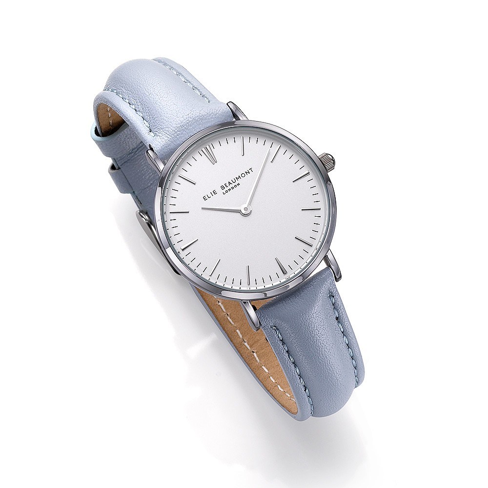Elie Beaumont Oxford Ice Blue Watch