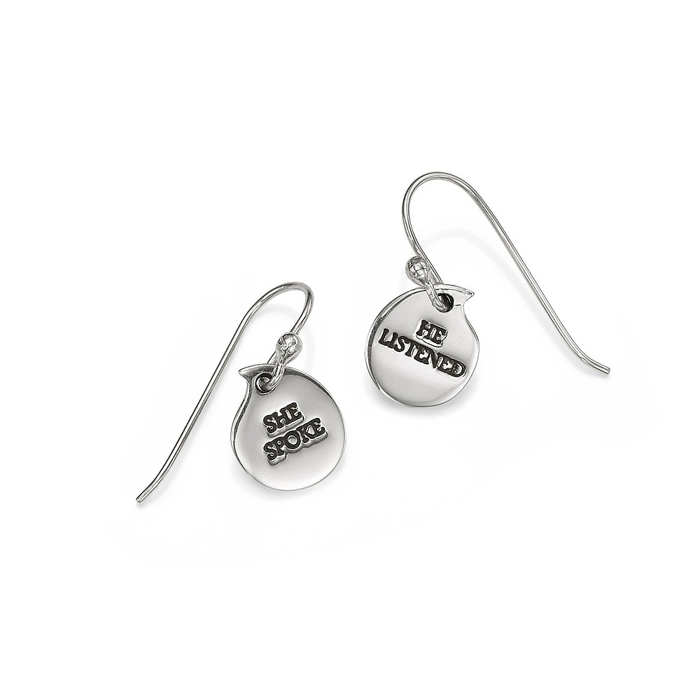 Speak Your Truth Drop Earrings
