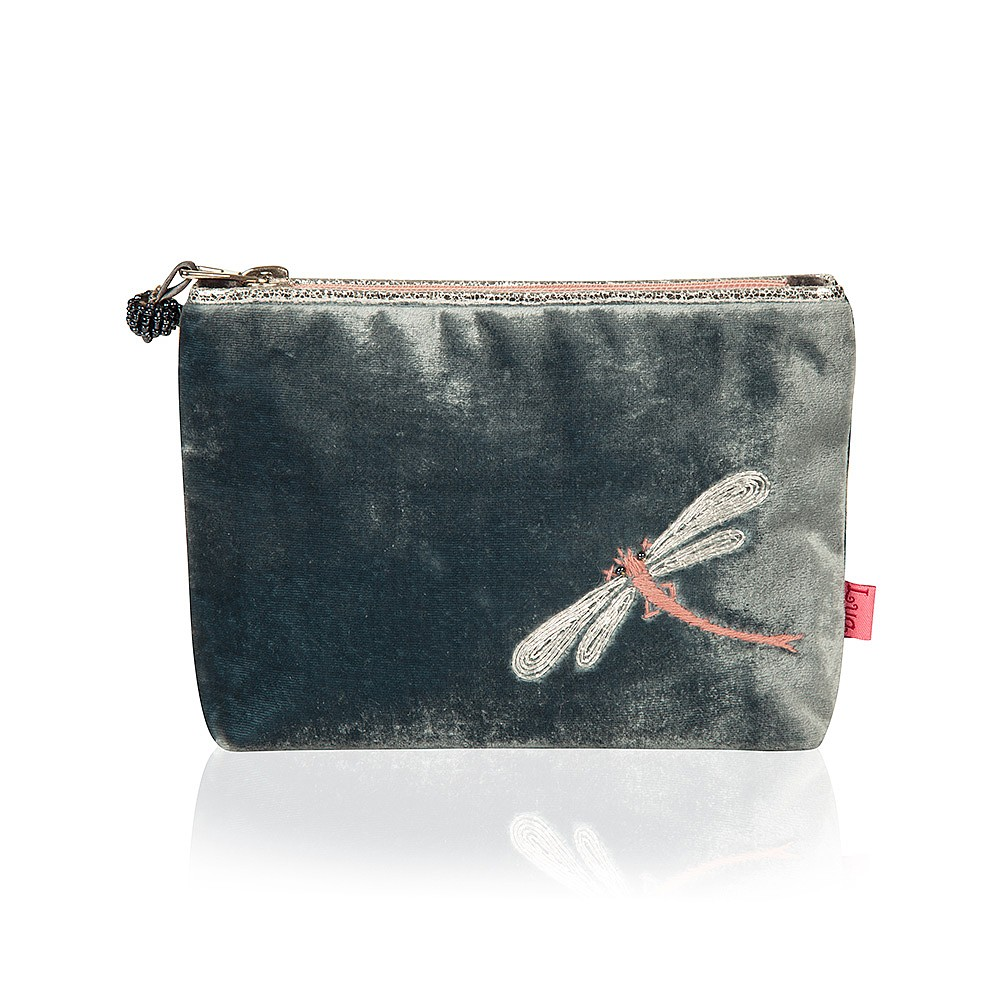 Pewter Dragonfly Dreams Pouch