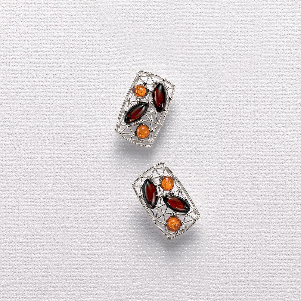 Gossamer Glow Stud Earrings