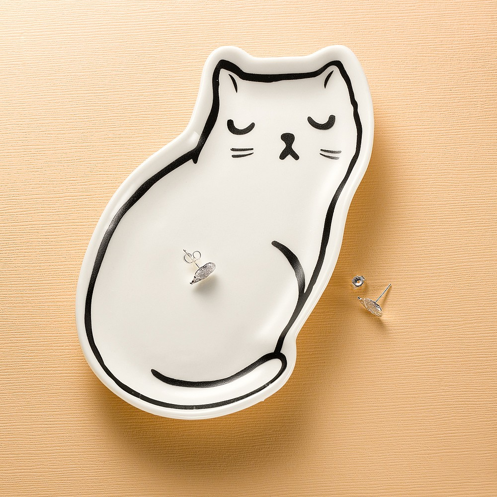 Chic Le Chat Trinket Dish