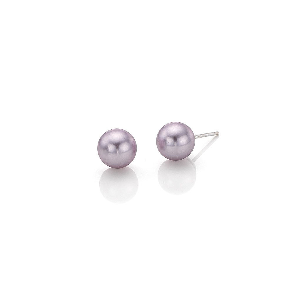 Lilac Longing Stud Earrings