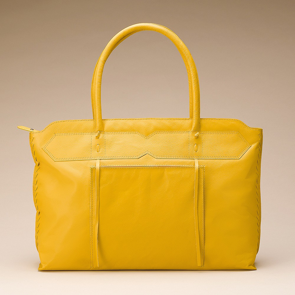Walking on Sunshine Leather Bag