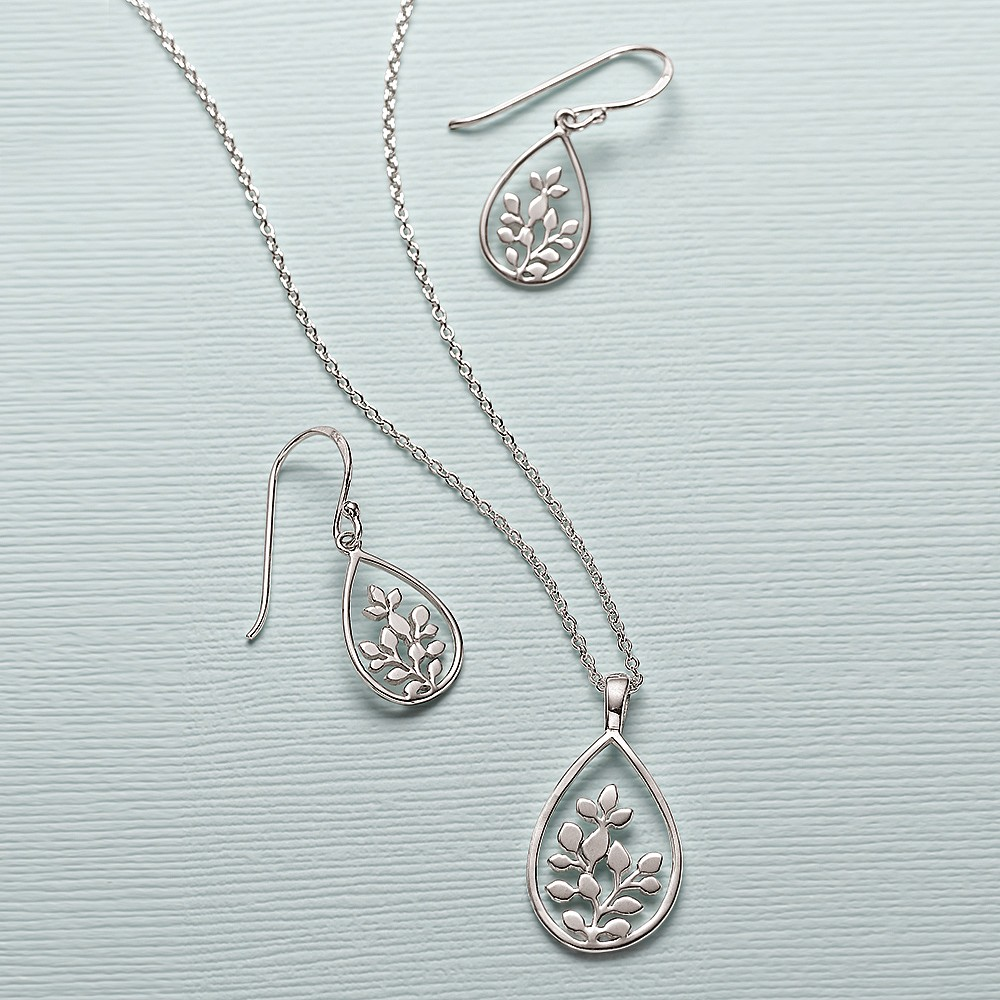 A New Leaf Silver Set