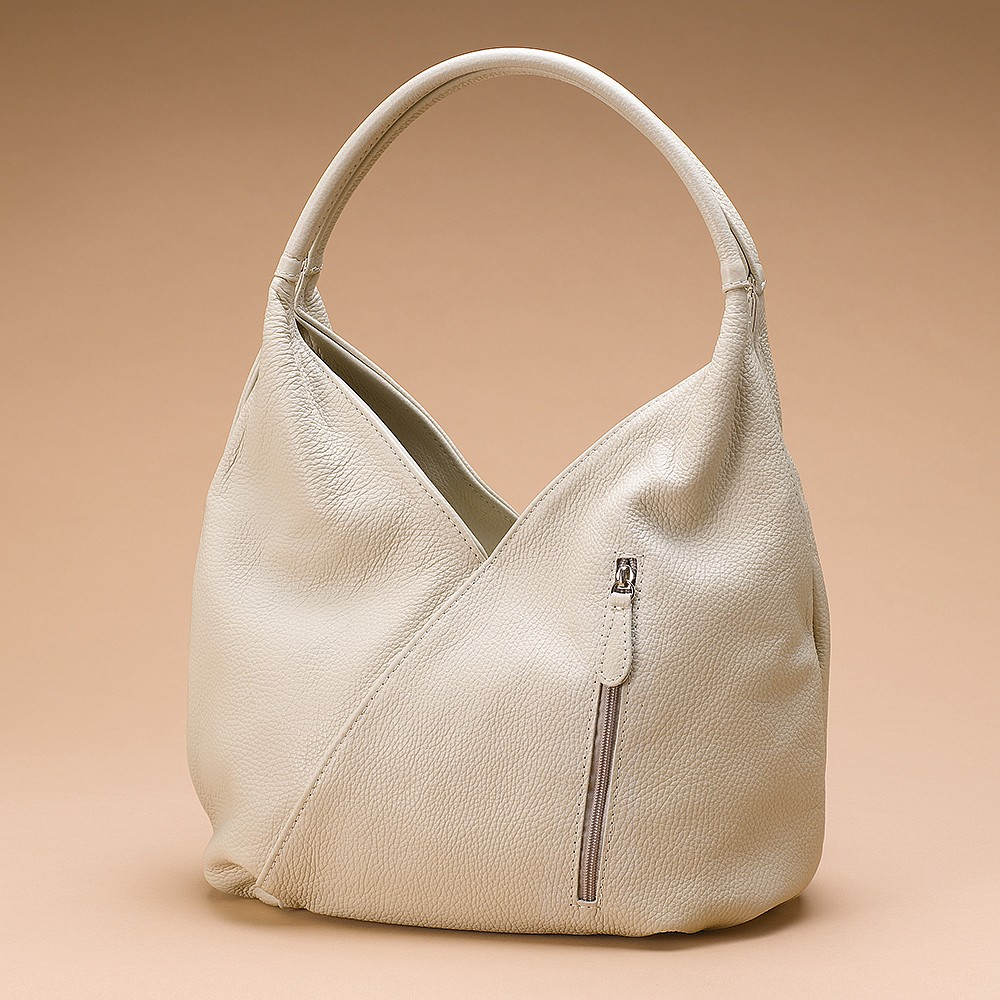 Vanilla Tulip Leather Bag