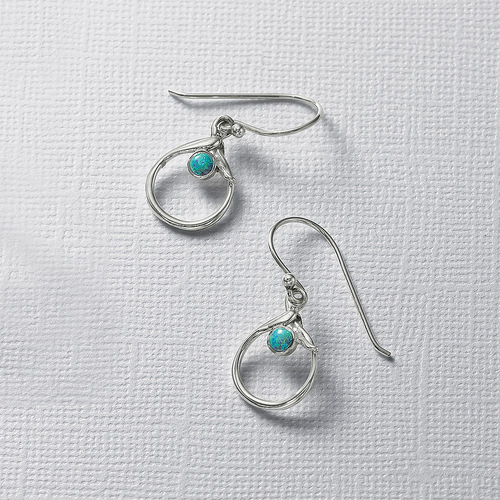 Tidal Pool Drop Earrings