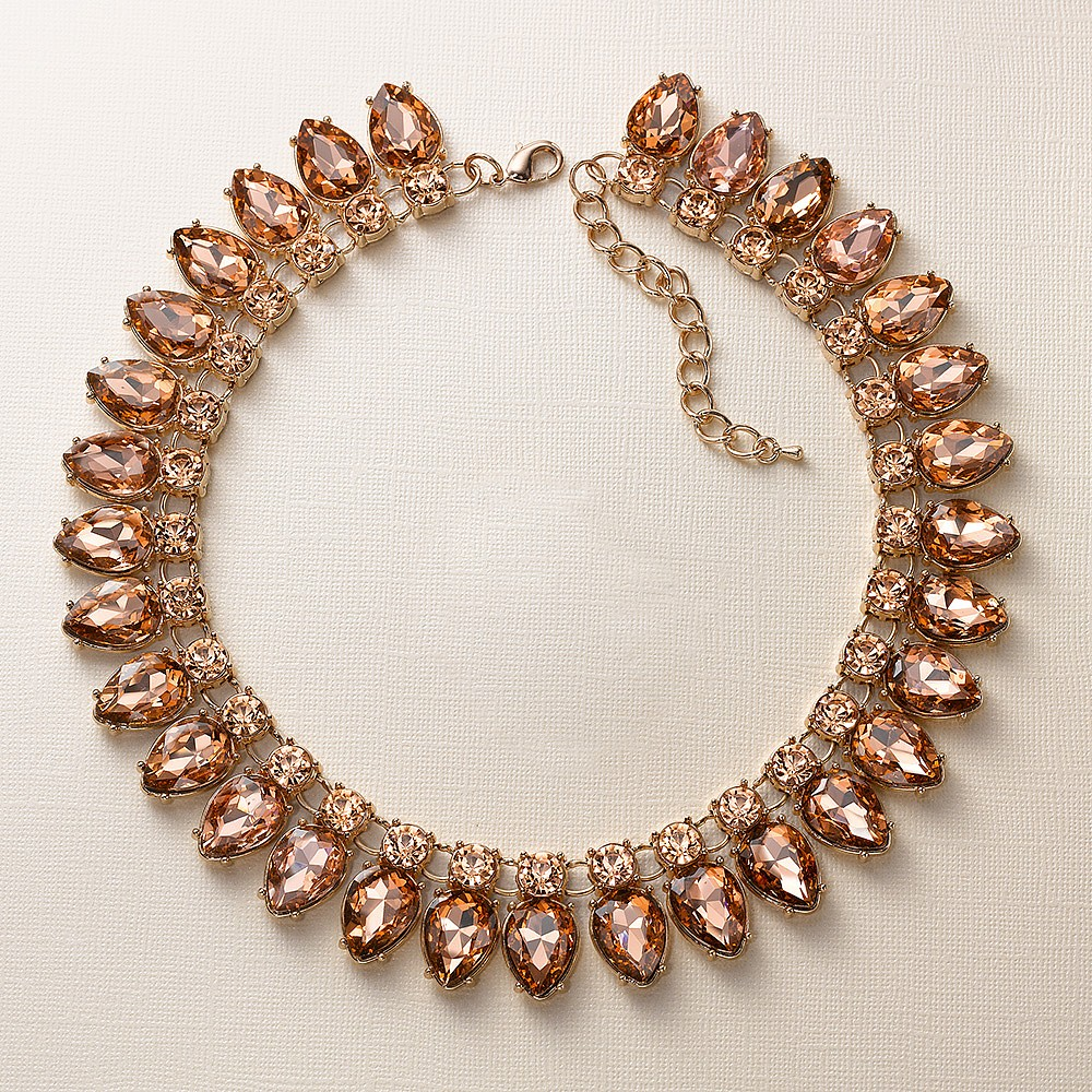 Peach Fizz Necklace