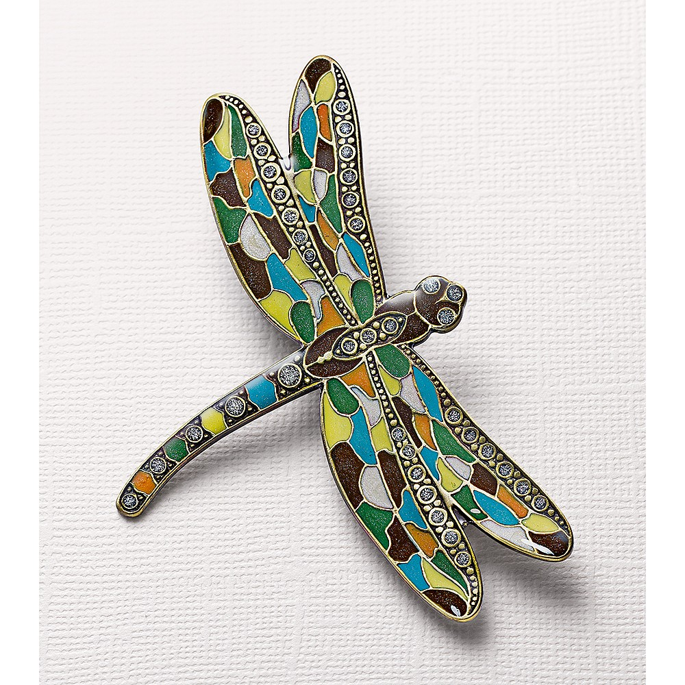 Wings of Change Dragonfly Brooch