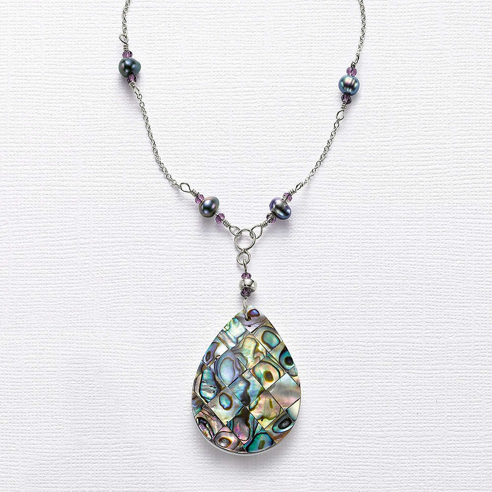 Ocean Chronicles Paua shell Pendant
