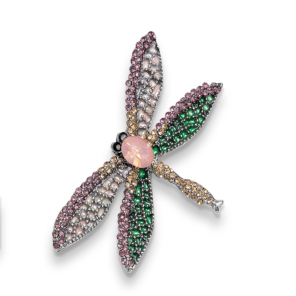 Flights of Fancy Dragonfly Brooch
