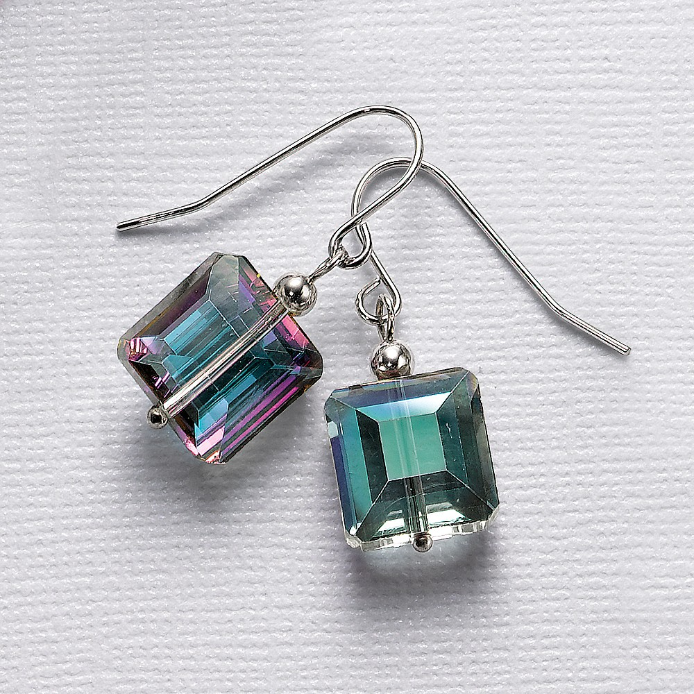 Iridescent Enigma Crystal Earrings