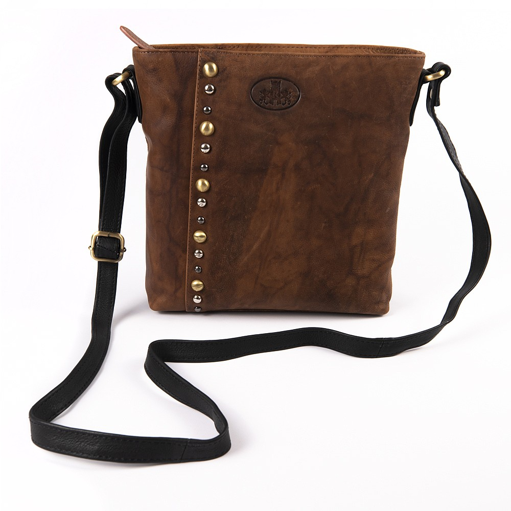Off the Beaten Path Leather Bag