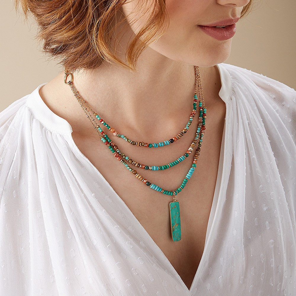 Talisman of Queens Turquoise Necklace
