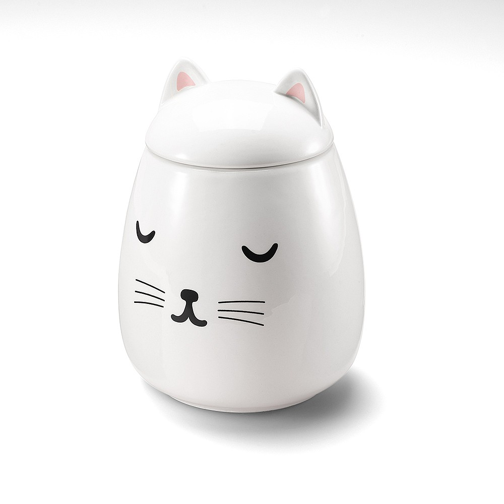 Chic Le Chat Storage Jar