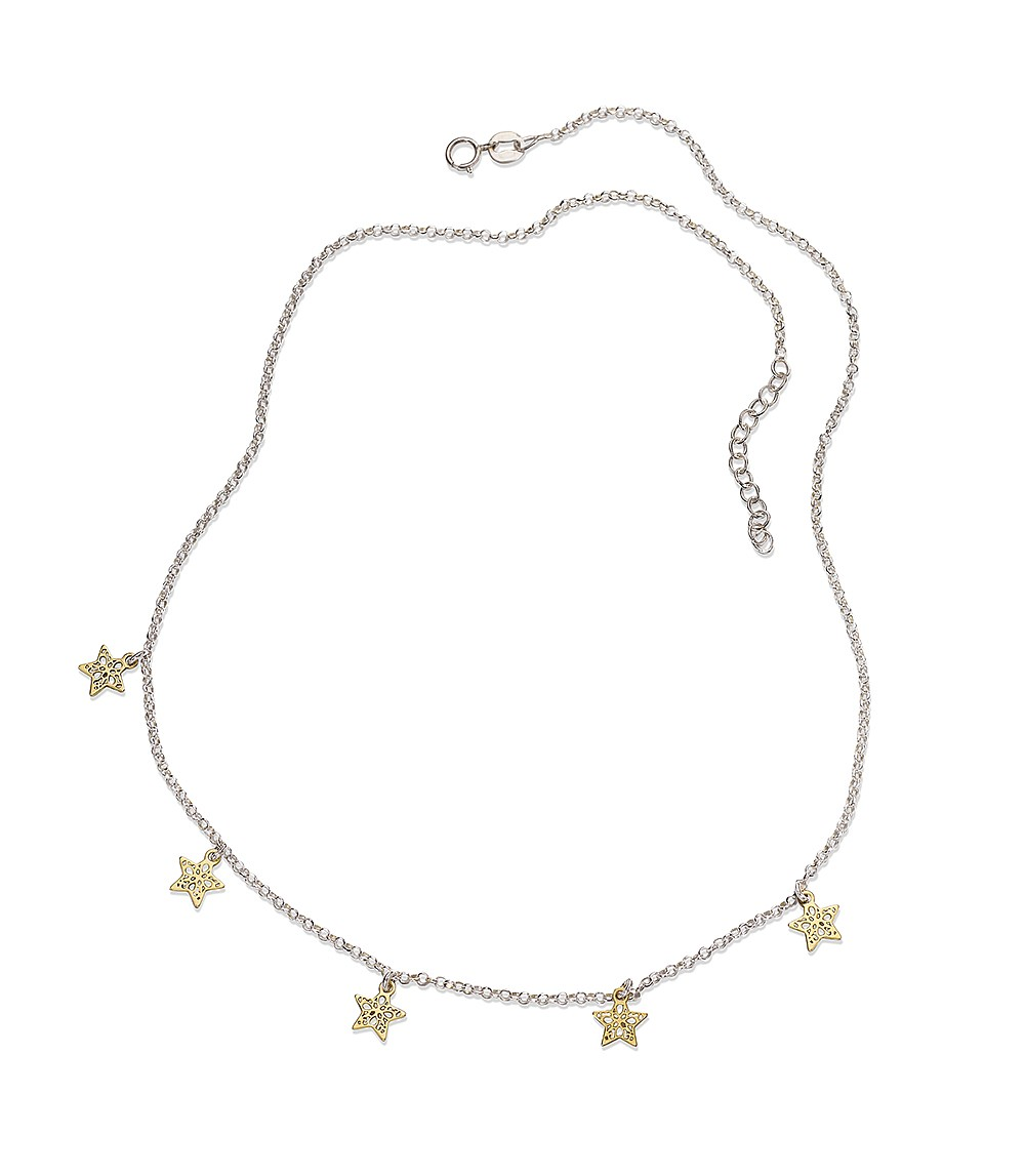 Twinkle Twinkle Silver Necklace