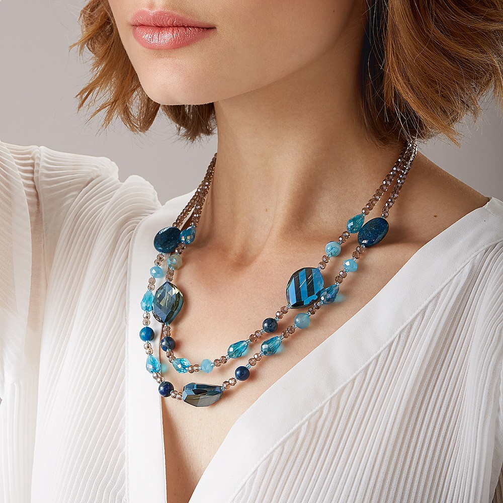 Crystal Waters Necklace