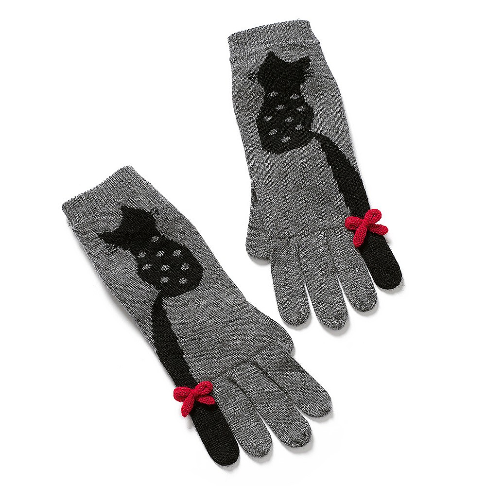 Fluffy Feline Gloves
