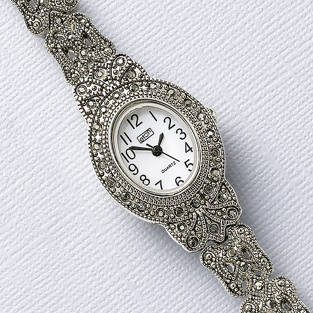 Tale as Old as Time Marcasite Watch