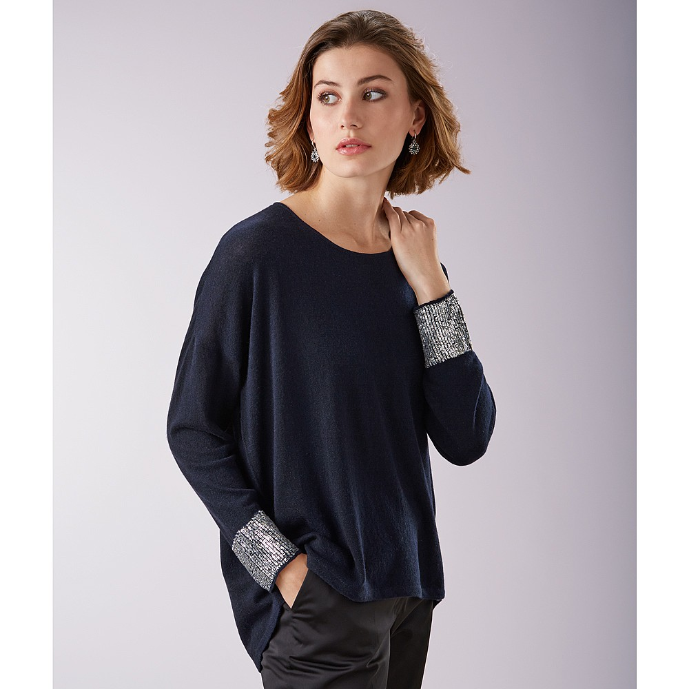Moonlit Waters Cashmere Jumper