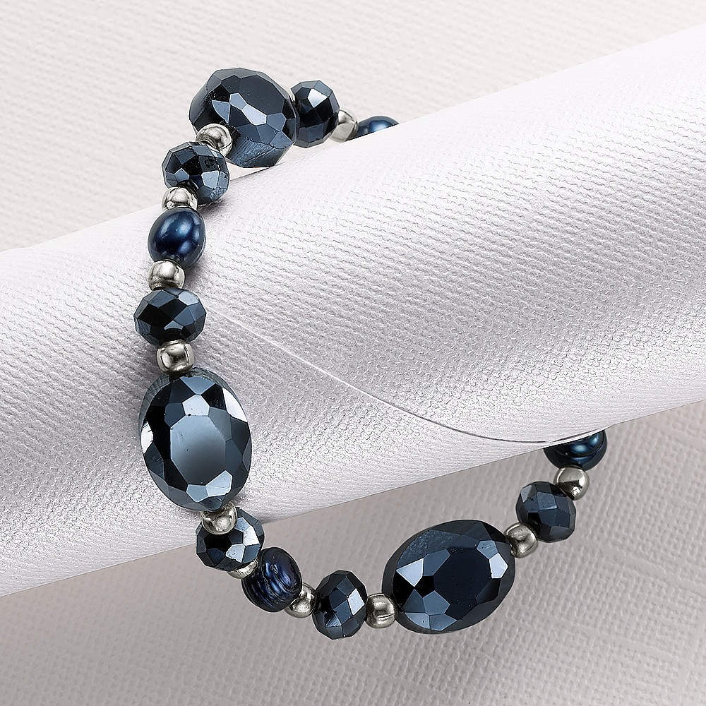 Splendour of Night Stretch Bracelet