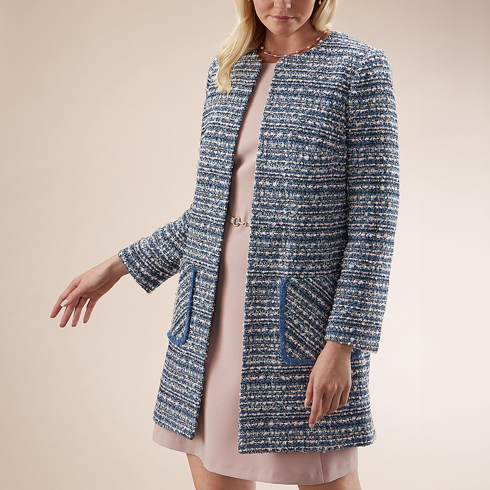 Dappled Waters Tweed Coat