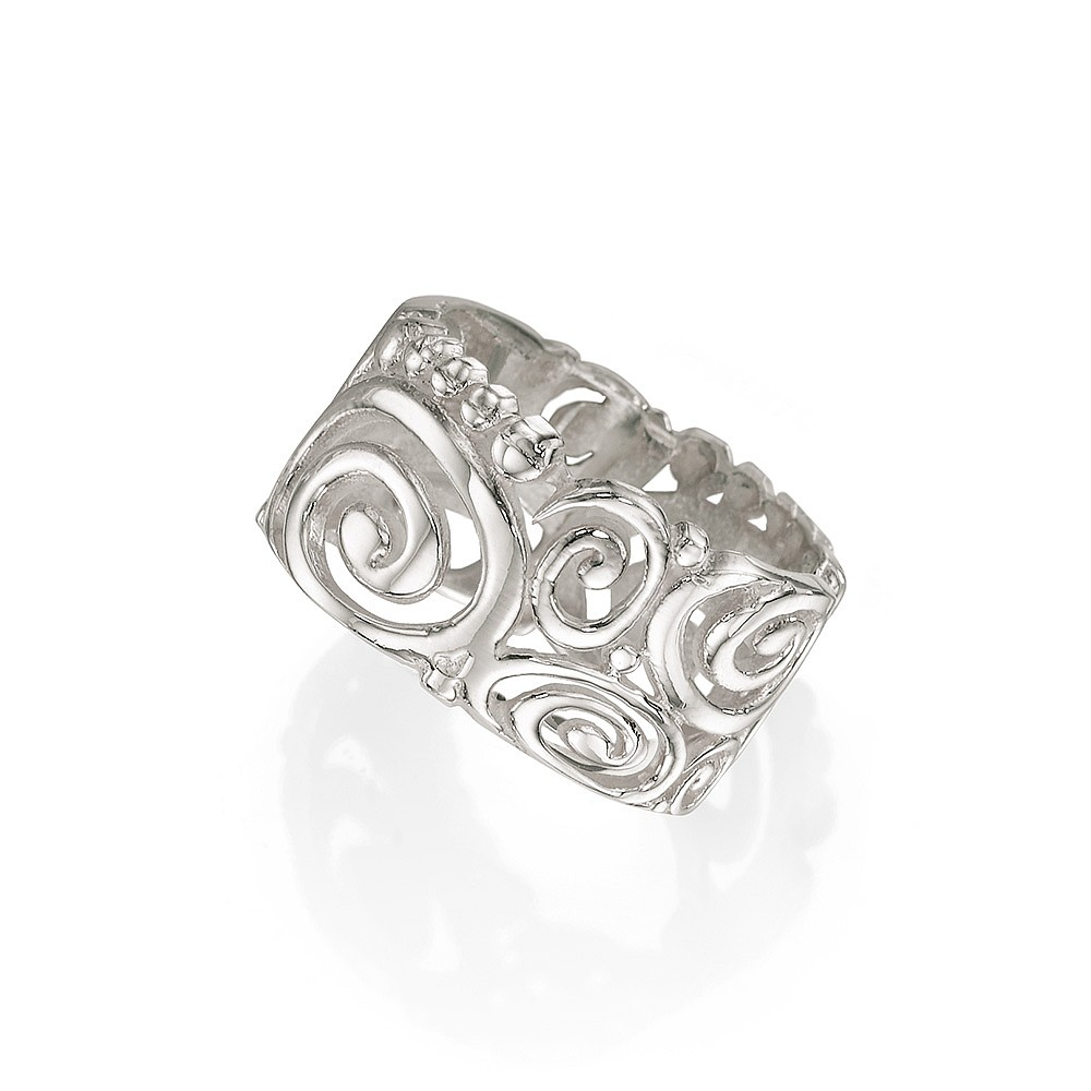 Pure Embrace Silver Ring