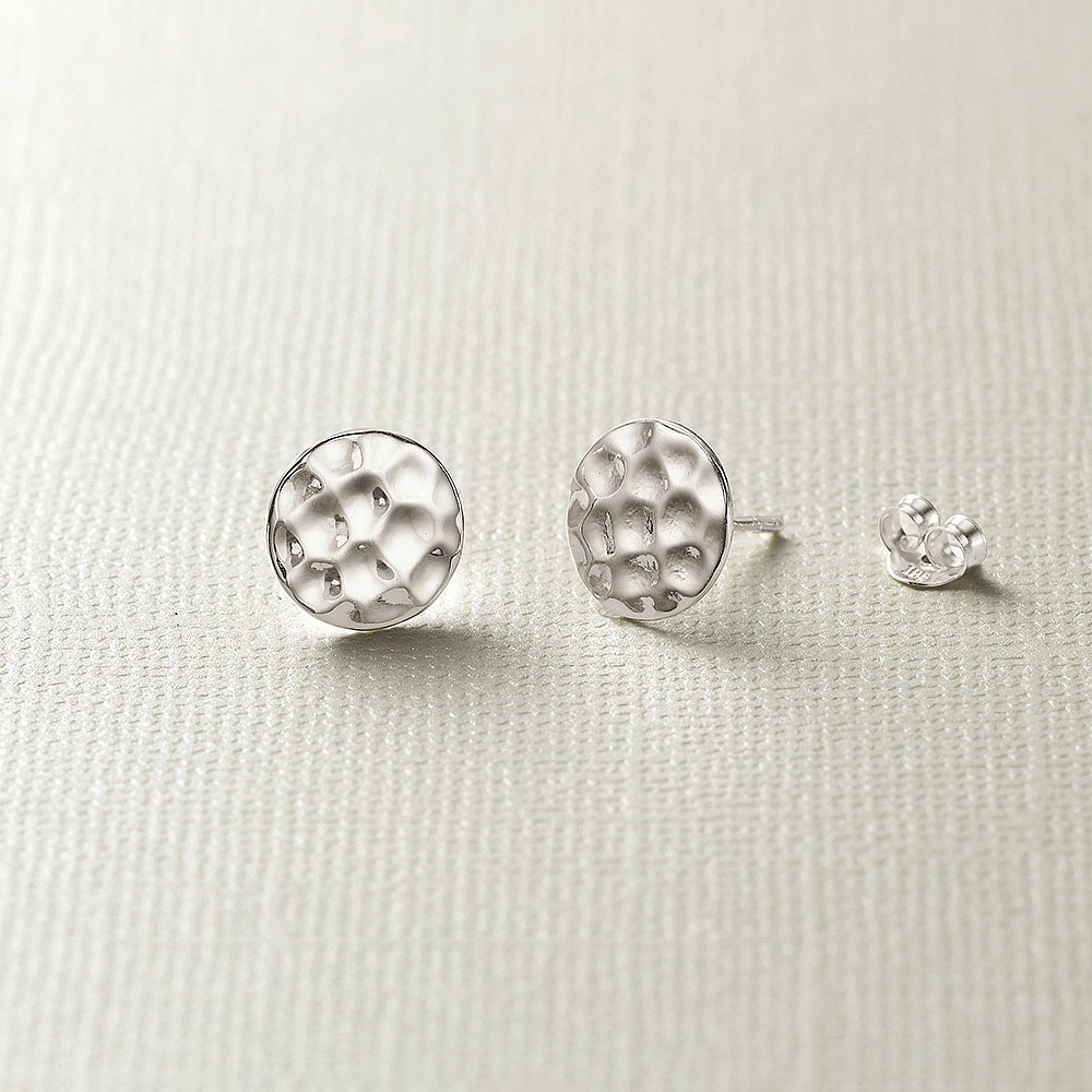 Small Wonder Silver Stud Earrings