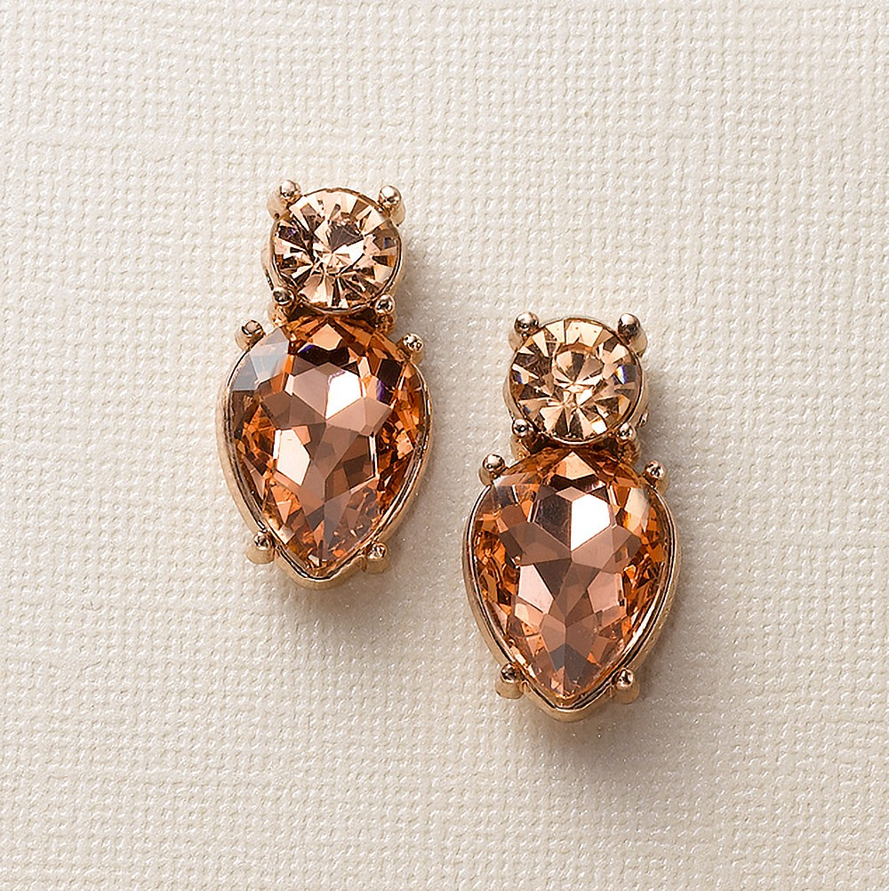 Peach Fizz Earrings