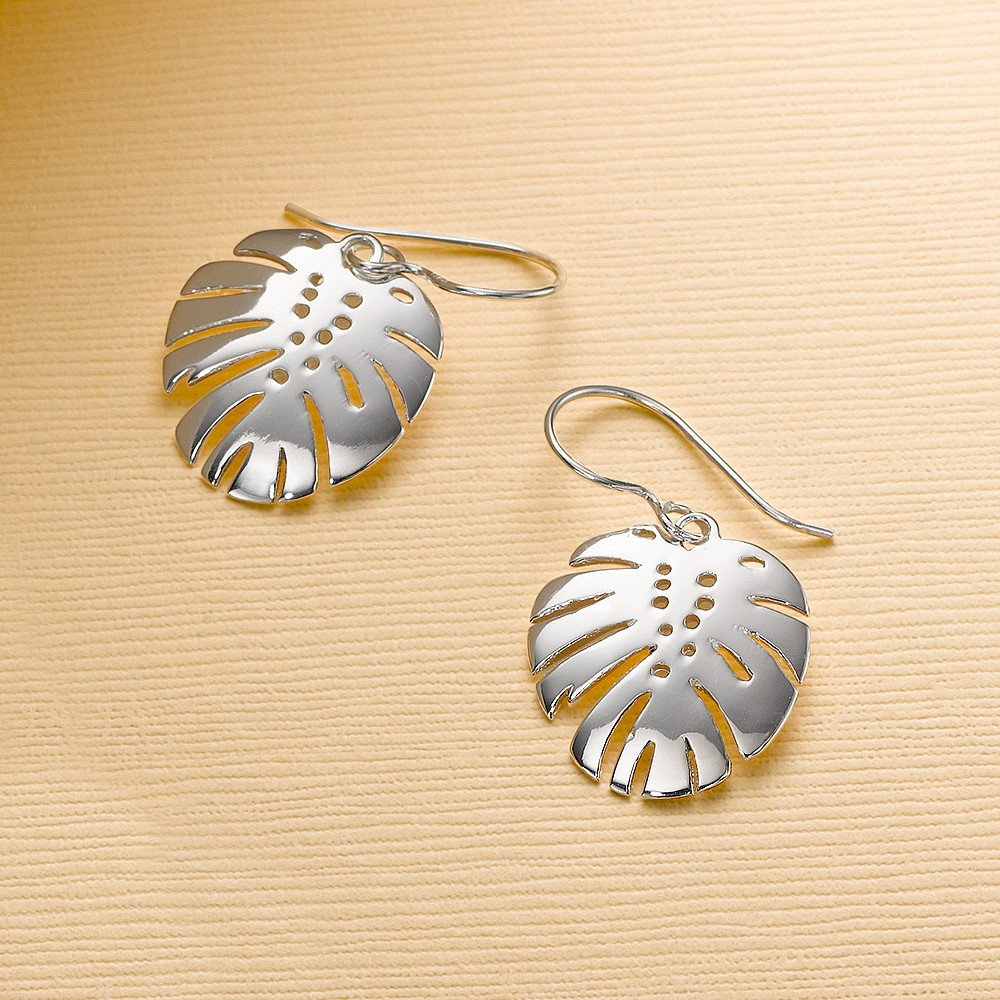 Spirit of the Tropics Silver Earrings