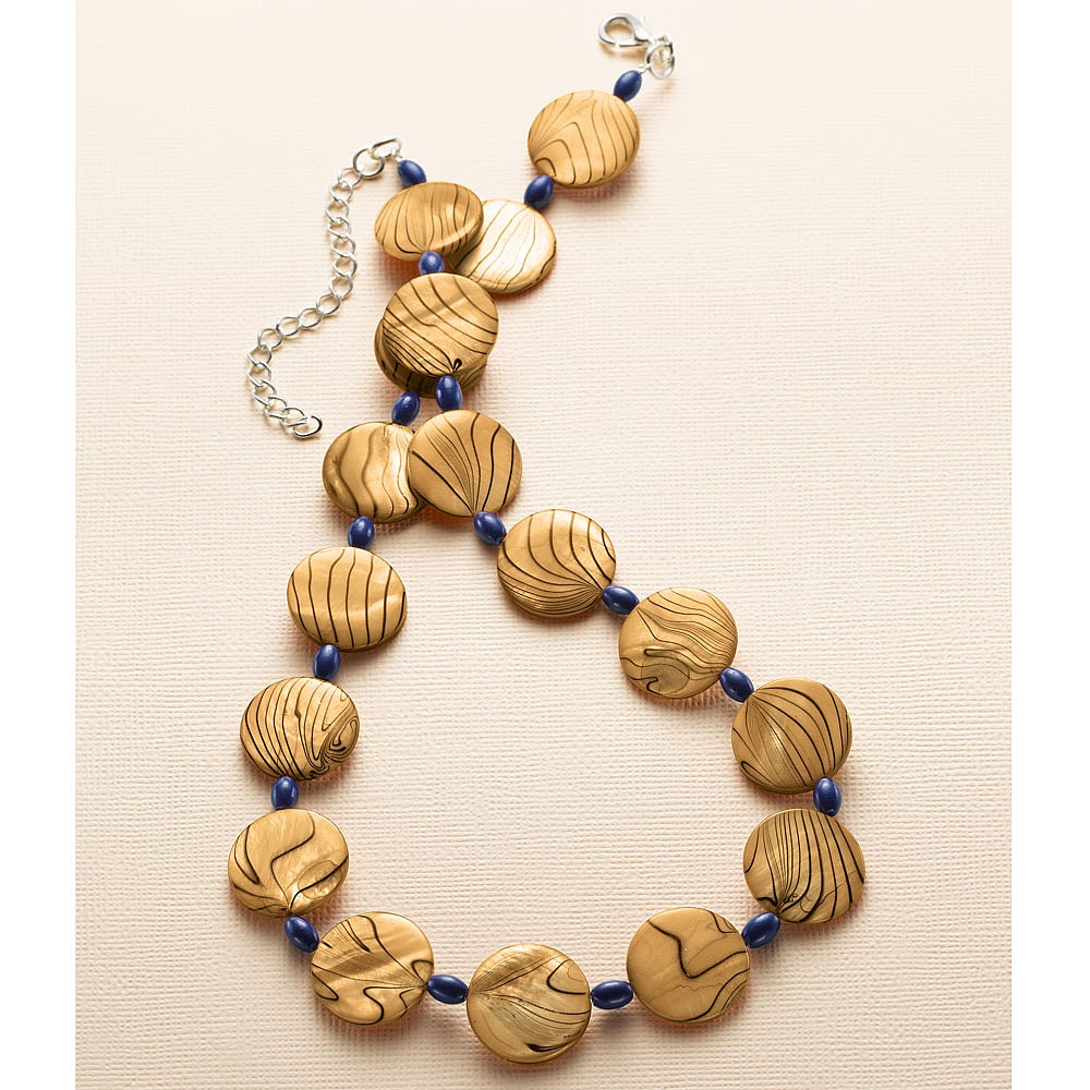 Tidelines Shell Necklace