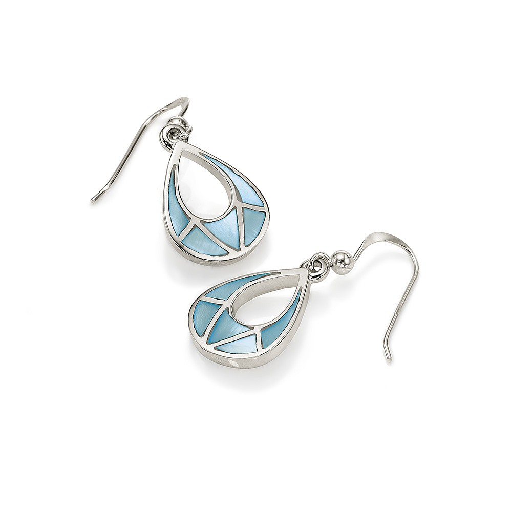 Moon River Mother Of Pearl Earrings
