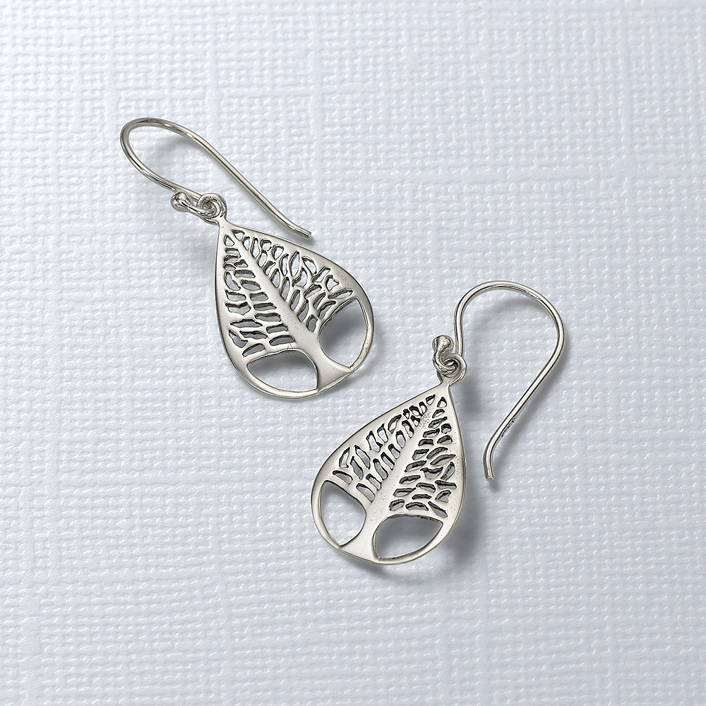 Nature's Way Silver Earrings