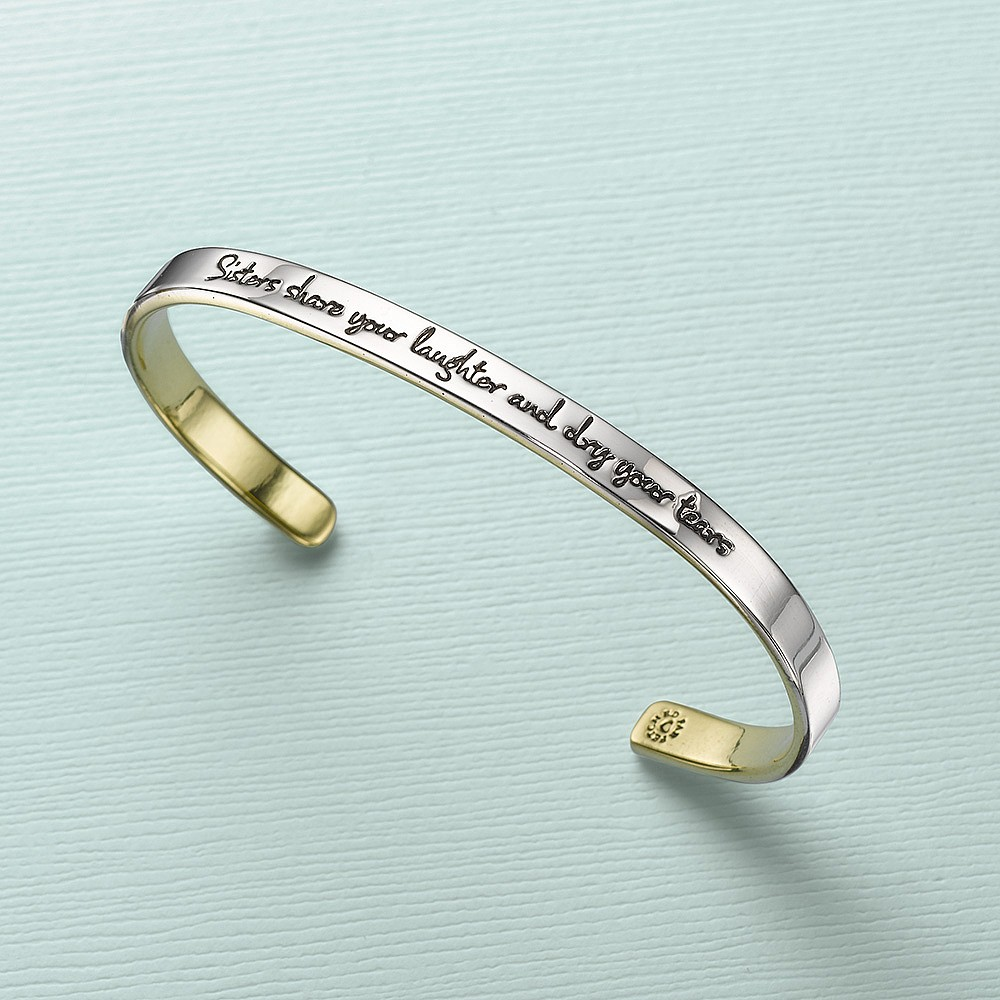 Sisterhood Cuff Bangle