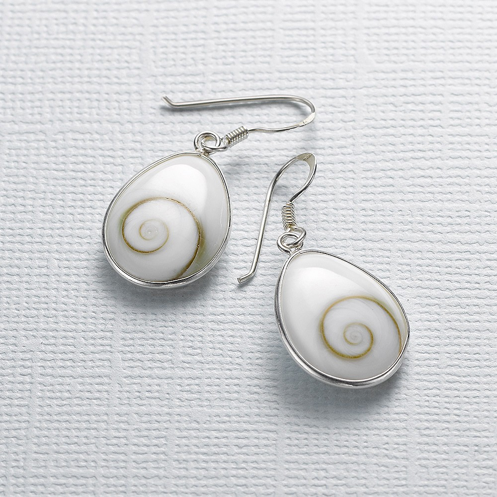 Ocean Eye Shiva Shell Earrings